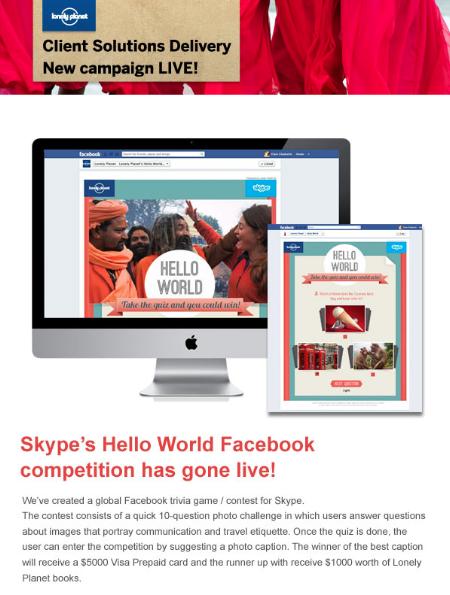 Skype 'Hello World'