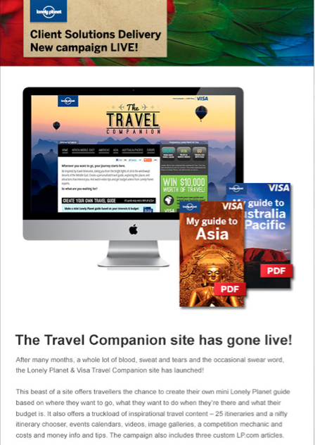 VISA - 'The Travel Companion'