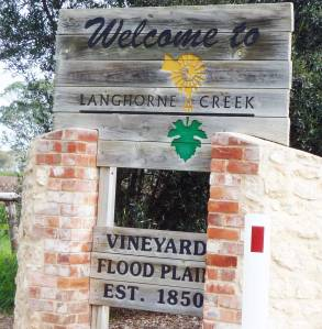 Welcome to Langhorne Creek, where wine and horseradish flows!